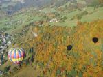 Survol des couleurs d'automne à Praz sur Arly