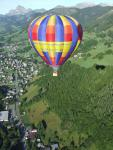 a summer flight over Praz sur Arly