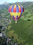 vol en montgolfière dans le Val d'Arly
