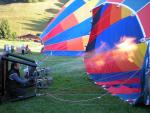 hot air ballooning near Megeve