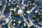 Visite de Megève en montgolfière