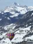 Aravis, ballooning close to Grand Bornand