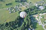 décollage des montgolfières de Praz sur Arly